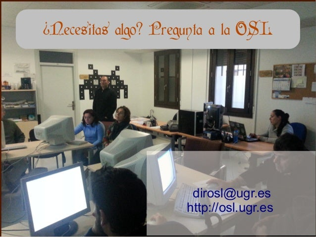 Presentaci n open data day en granada 2014 for Comedores universitarios ugr