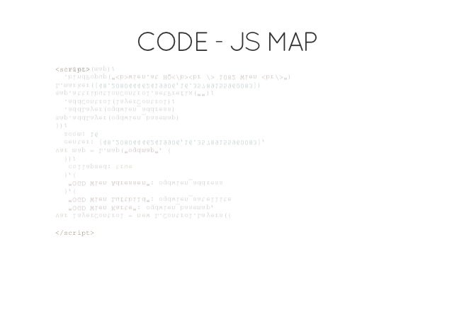 """CODE - JS MAP<cit srp>vrlyroto =nwLCnrlLyr( a   aeCnrl   e  .oto.aes{   """"G We Kre:odinbsmp    OD in at""""   gwe_aea,   """"G We..."""