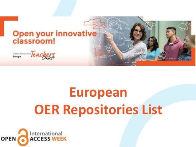 European OER Repositories List