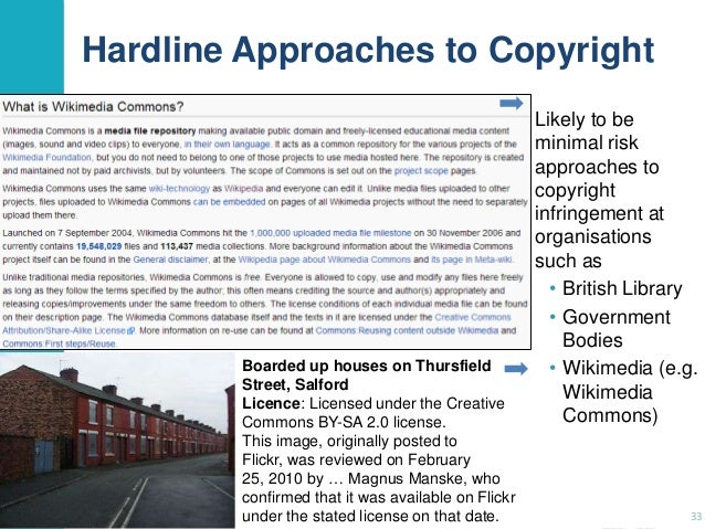 Hardline Approaches to Copyright  Boarded up houses on Thursfield Street, Salford Licence: Licensed under the Creative Com...