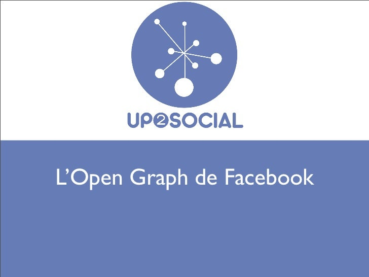 L'Open Graph de Facebook