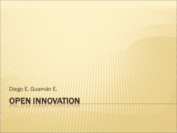 Diego E. Guamán E.