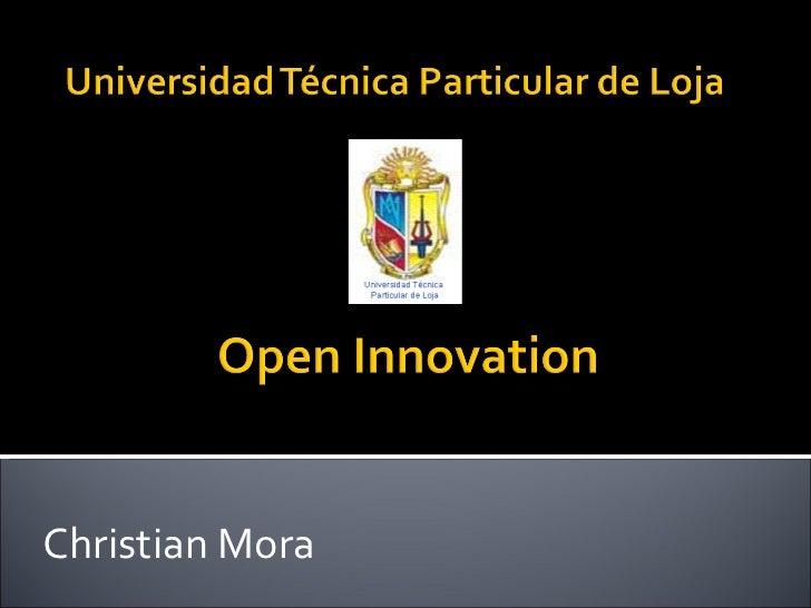 Christian Mora