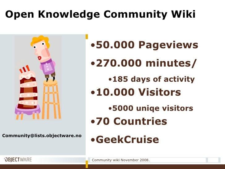 <ul><li>50.000 Pageviews </li></ul><ul><li>270.000 minutes/  </li></ul><ul><ul><ul><li>185 days of activity </li></ul></ul...