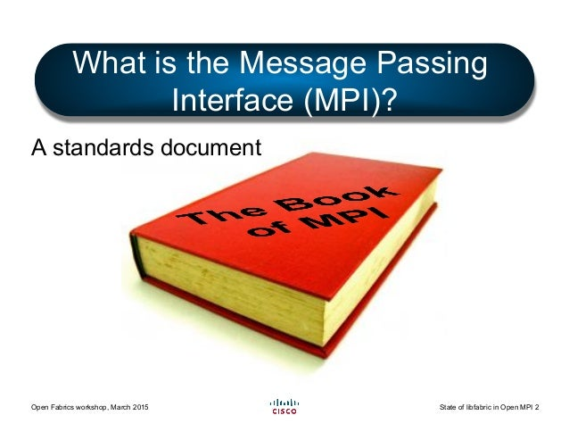 The State of libfabric in Open MPI Slide 2