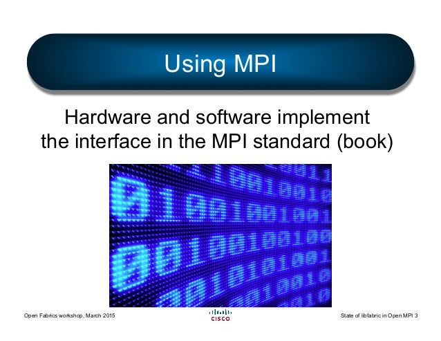 The State of libfabric in Open MPI Slide 3