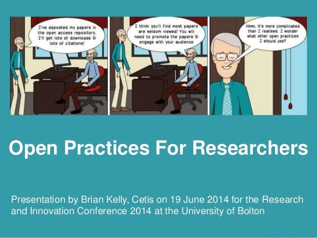 Open Practices Beyond Open Access Presentation by Brian Kelly, UKOLN on 25 October 2012 for an Open Access Week event at t...