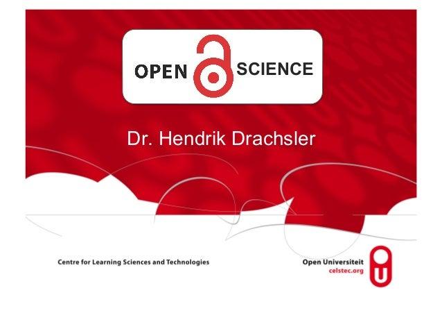 SCIENCEDr. Hendrik Drachsler
