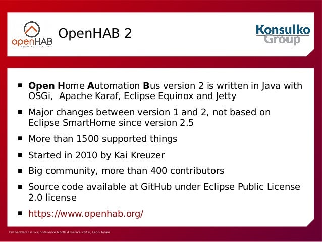 Comparison of Open Source Software Home Automation Tools