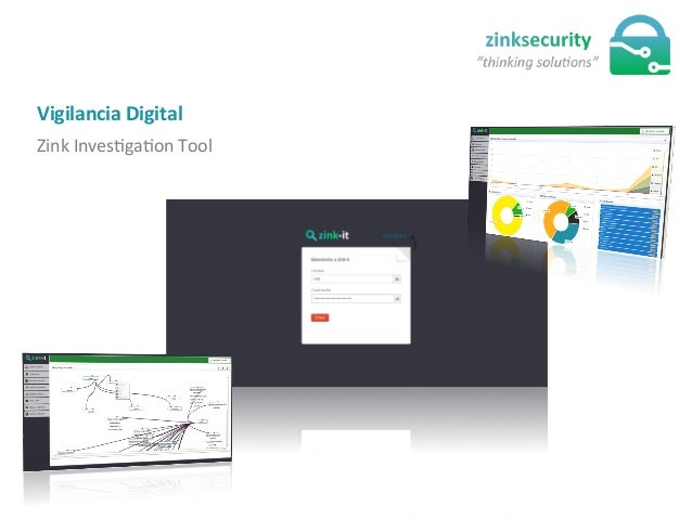 Zink  InvesJgaJon  Tool   Vigilancia  Digital