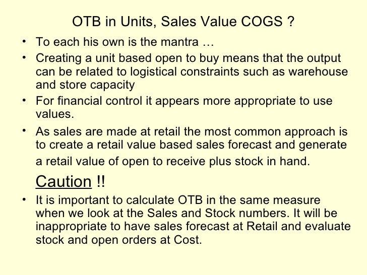 open to buy spreadsheet