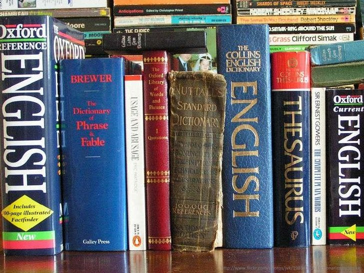 [English dictionaries]<br />http://www.flickr.com/photos/jvk/19894053/ Dictionaries by jovike<br />