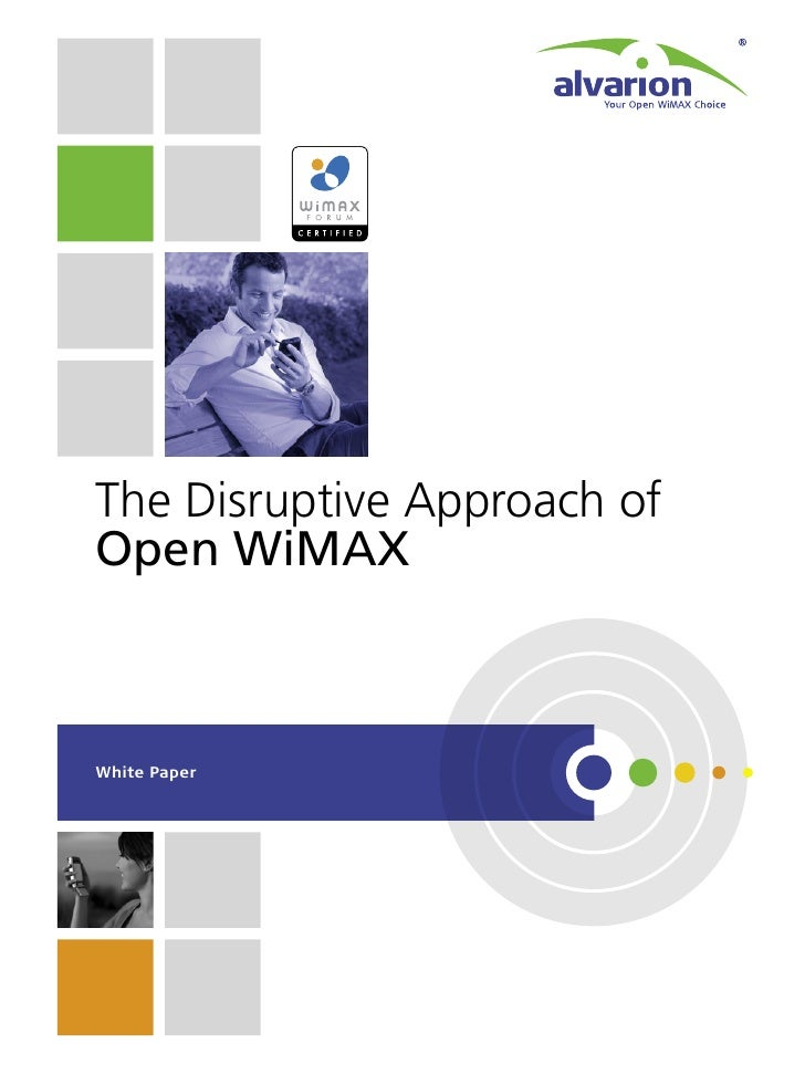 The Disruptive Approach of Open WiMAX    White Paper