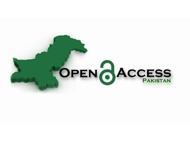 Open Access Pakistan (Road from OpenCon 2014 to 2016) - Arslan Inayat - OpenCon 2016