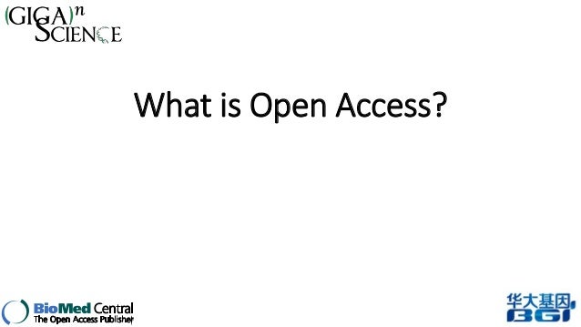 Nicole Nogoy at the G3 Workshop: Open Access Publishing