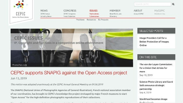 Open Access to Art Images