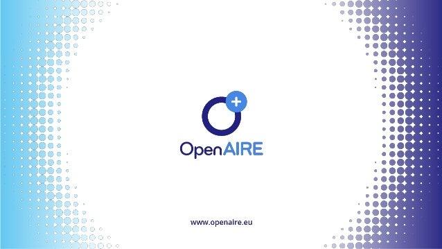 @openaire_eu Funder Monitoring Dashboard monitor.openaire.eu Angelica Vos ATHENA Research Center