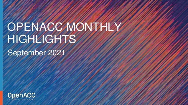 openacc monthly highlights september 2021 1 638