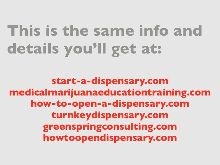 how to become medically licensed dispensary
