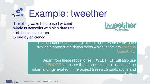 Open) Research Data Management in H2020 (ISERD – Tel Aviv, Oct 31, 2…