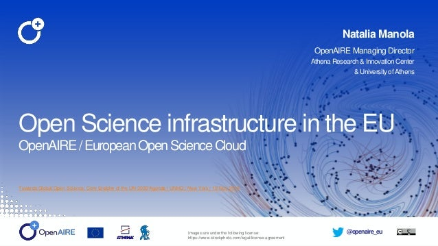 @openaire_eu Towards Global Open Science: Core Enabler of the UN 2030 Agenda | UNHQ | New York | 19 Nov 2019 Open Science ...