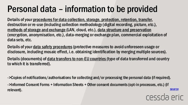 Legal and ethical considerations for sharing research data