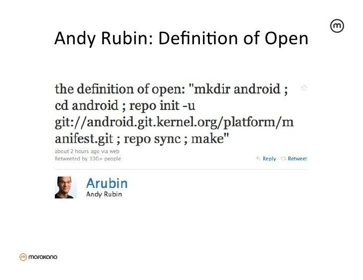 Andy Rubin: DefiniZon of Open