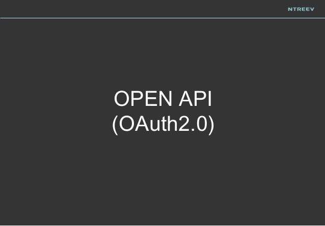 OPEN API (OAuth2.0)