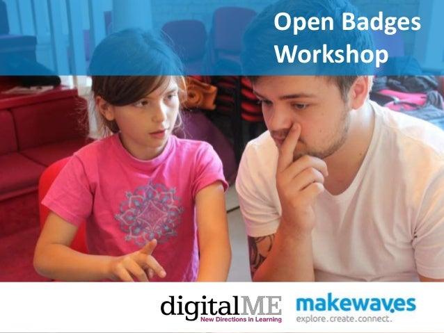 Open BadgesWorkshop