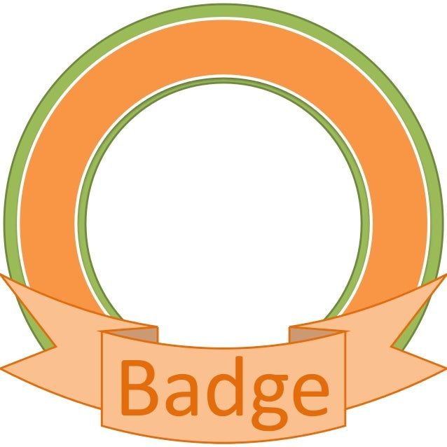 template for badges