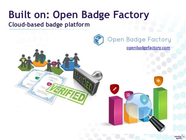 CanCred Factory: A Badging Platform for Canada Slide 2