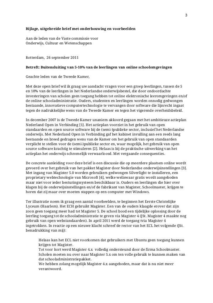 open brief schrijven voorbeeld Open Brief Voorbeeld | gantinova