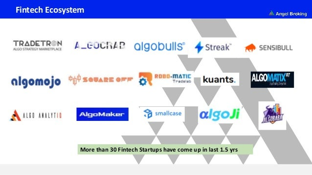 Fintech Ecosystem More than 30 Fintech Startups have come up in last 1.5 yrs