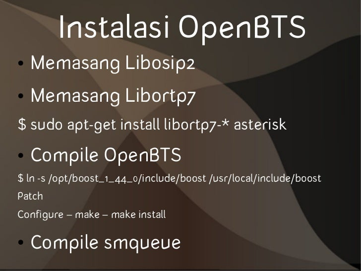 Openbts - Essay Sample