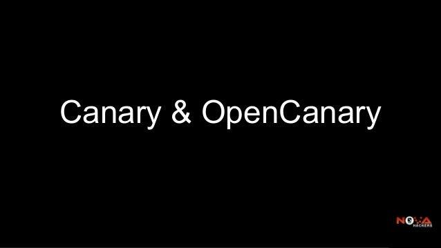 Canary & OpenCanary