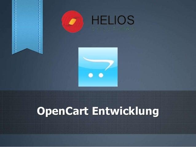 OpenCart Entwicklung