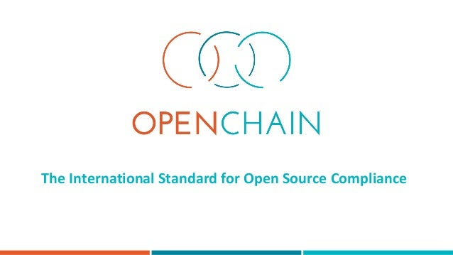 The International Standard for Open Source Compliance
