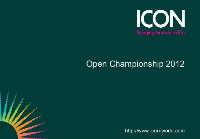 Open Championship 2012        http://www.icon-world.com