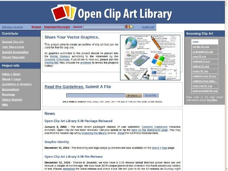 Openclipart + Aiki Framework Lightning Talk 1.0 Slide 1