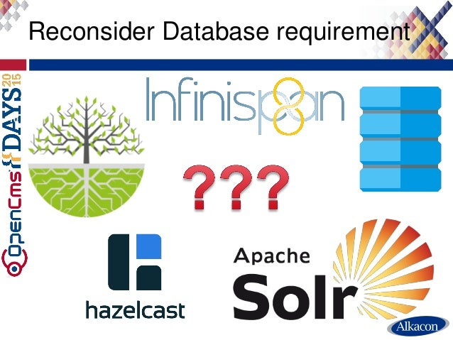 Reconsider Database requirement 10