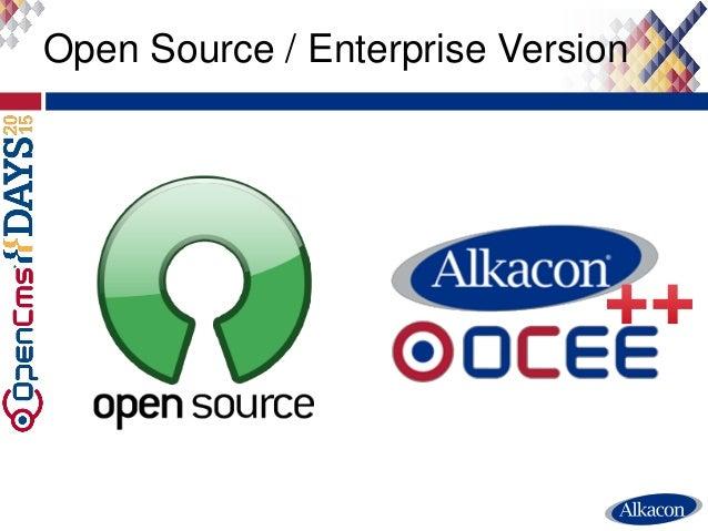 Open Source / Enterprise Version