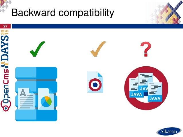 Backward compatibility 27