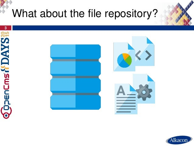 3 What about the file repository?