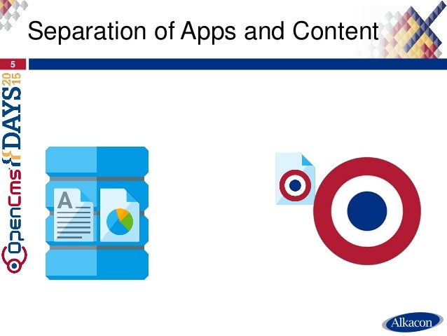 Separation of Apps and Content 5