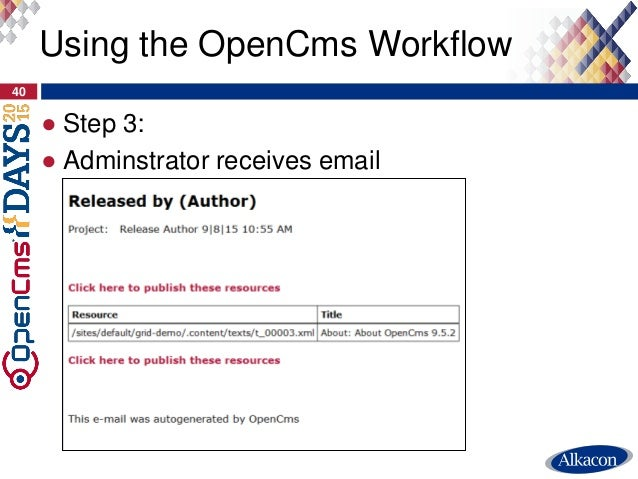opencms days 2015 hidden features of opencms
