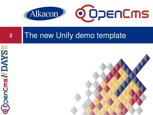 The new Unify demo template3