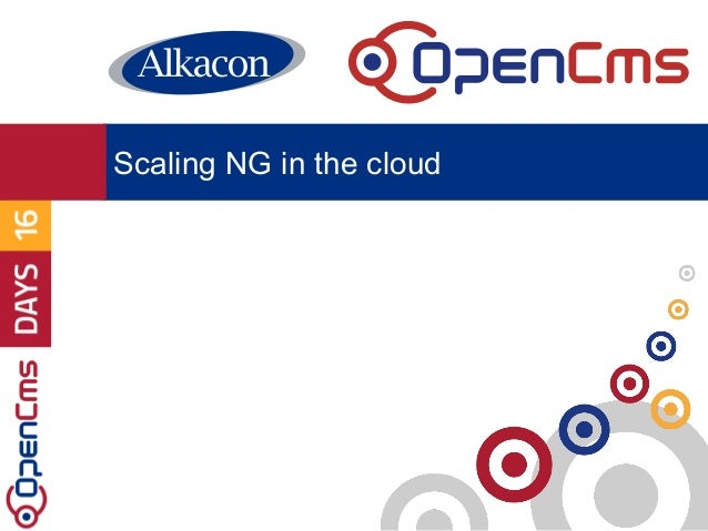 Scaling NG in the cloud