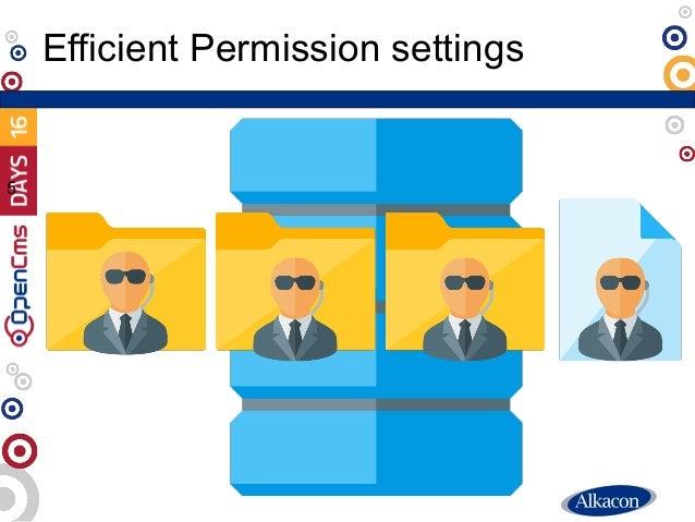 Efficient Permission settings 5