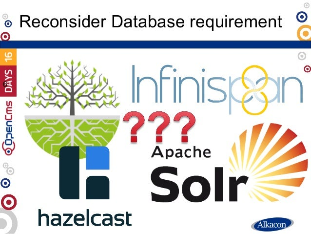 Reconsider Database requirement 6