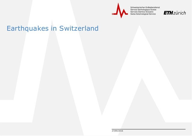 OpenCms Days 2016: OpenCms at the swiss seismological service Slide 3